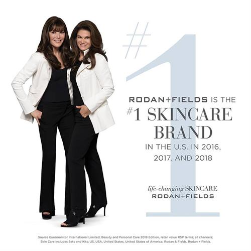 Rodan + Fields is now the #1 selling skin care brand in the U.S. three consecutive years!