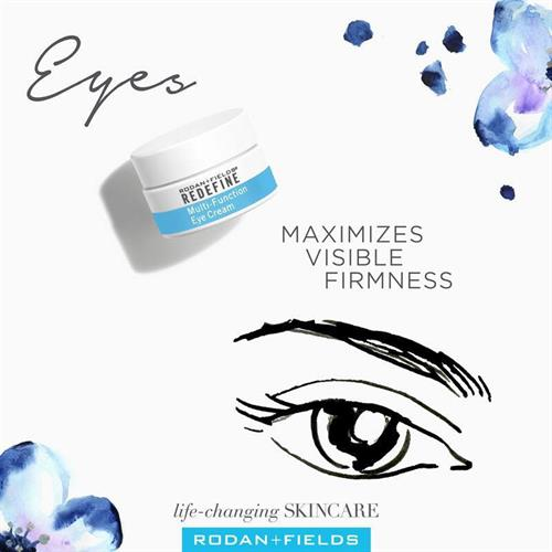 MULTI FUNCTION EYE CREAM Visibly improves firmness and diminishes the look of expression lines with Peptides and Antioxidants