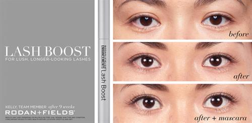 LASH BOOST 9 week results