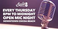 Open Mic Night at Bula Kava Bar & Coffeehouse