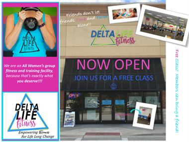 Never tried a Delta Life workout?? We welcome you to give it a try...for FREE!
