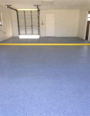 Flake Garage Floor