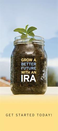 Get your IRA started today!