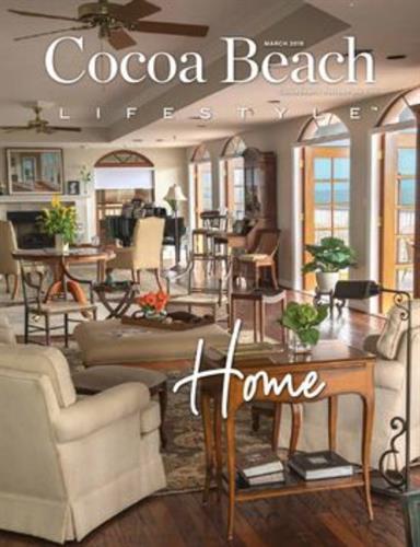 Cocoa Beach Lifestyle Magazine, Cover Image, March 2019