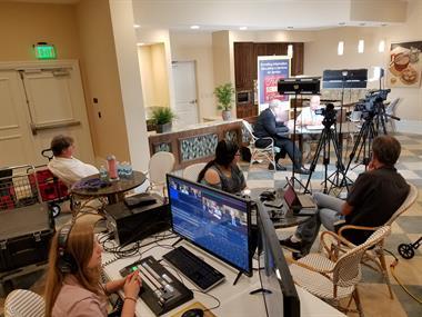 Helping Seniors TV Filming Behind-the-Scenes