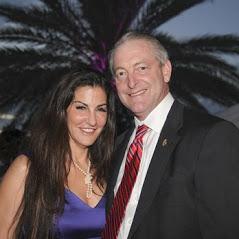 Steve Houser and Dina McDermott