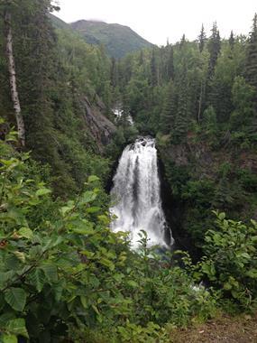 Juneau Falls Alaska