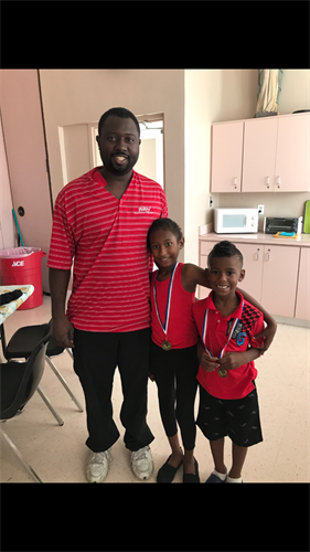 Adonius and his family went through our shelter program and just graduated from their year in aftercare!