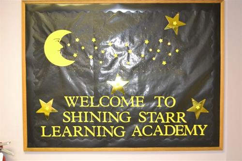 WELCOME TO SHINING STARR LEARNING ACADEMY