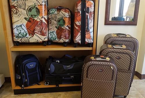 Cruise Ship and softside luggage