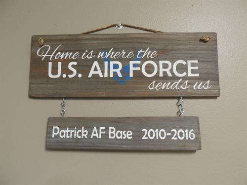 Custom Military signs