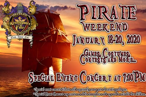 Pirate Weekend 2020