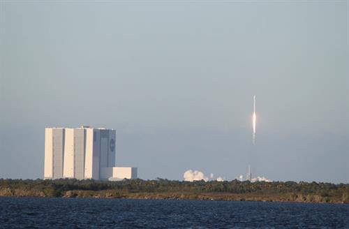 VAB Building and Launch view from US 1 in Titusville