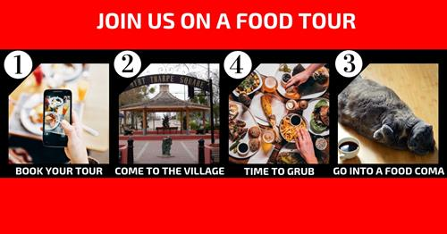 Book. Meet. Eat. That is how you Food Tour