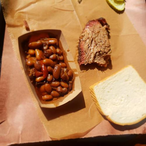 Best Brisket ever! skip the line and book now at www.villagefoodtours.com