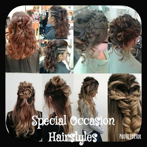 Hairstyles for any special event