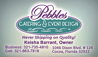 Pebbles Catering & Event Design