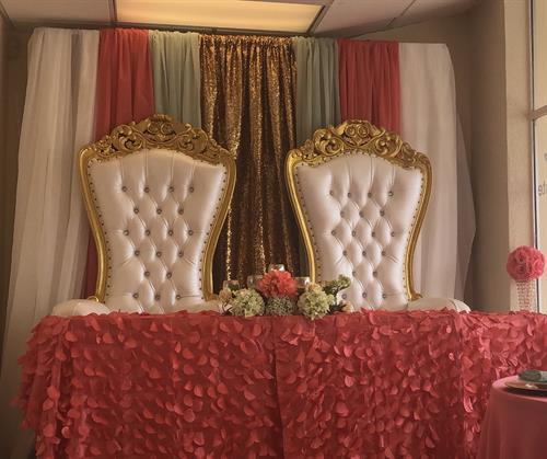 Rent These Beautiful Throne Chairs for your next event
