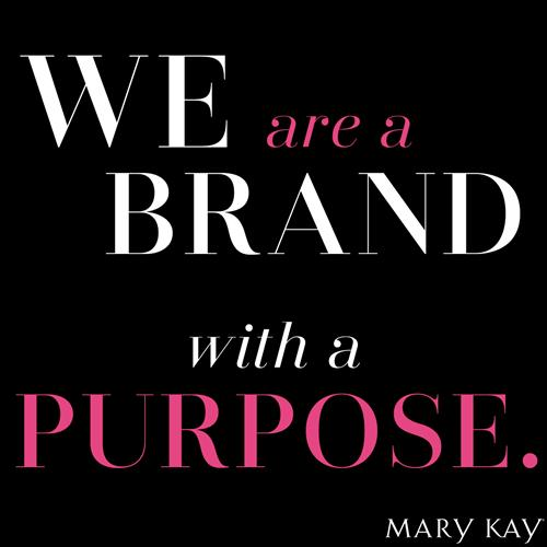 Our purpose is to help women with skin care, image, and color product choices and application.  We contribute to the environment, we give millions of dollars for cancer research and grants for domestic violence shelters across the US!  We build each other up and support one another.