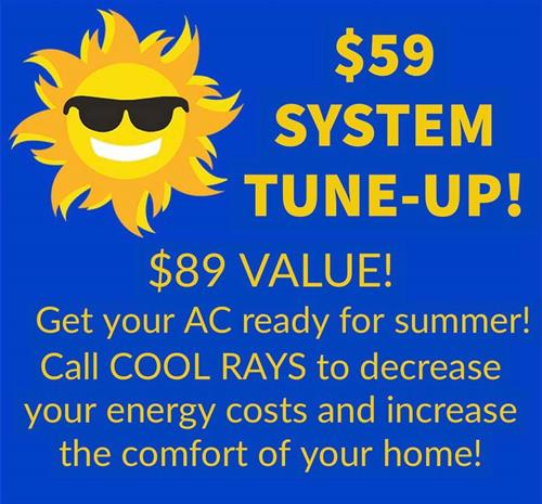 Call us today to schedule your Super Tune Up to ensure your unit is ready for summer!