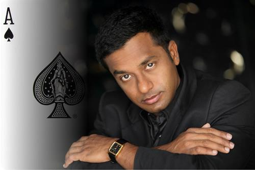 Our amazing talent is based worldwide. Magician Rakesh is from India.