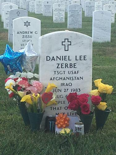 Daniel Lee Zerbe, 28, stationed in Fayetteville, N.C., formerly of Red Lion, died while serving in the U.S. Air Force in Afghanistan on Saturday, August 6, 2011