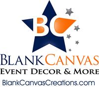 Blank Canvas Event Decor