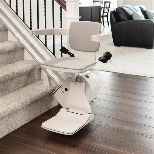 Straight and curved stairlifts from the top manufacturers.