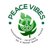 Peace Vibes Sustainable & Recycled Fashion Accessories + Home Decor