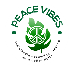 Peace Vibes Sustainable & Recycled Fashion Accessories ~ Wholesale