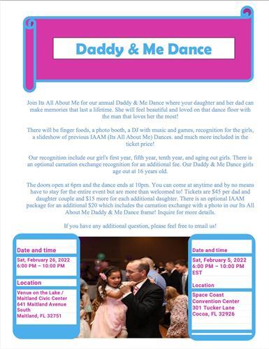 Daddy & Me Dances