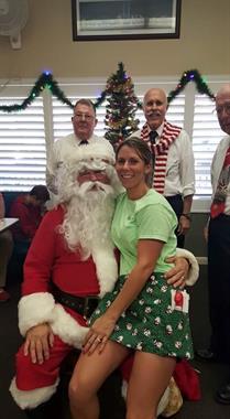 Santa at the Cozy