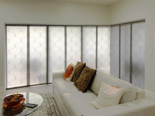 Glilding panels for a modern feel