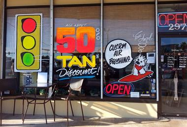 Every Wednesday is 50% off Single Tans