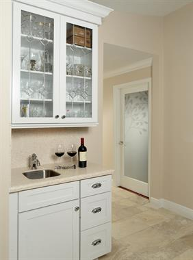 Wetbar for small space