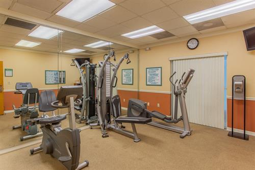 Quality Inn & Suites Cocoa Beach Fitness Center