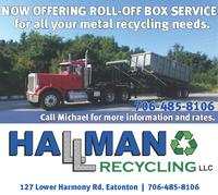 Hallman Recycling, LLC