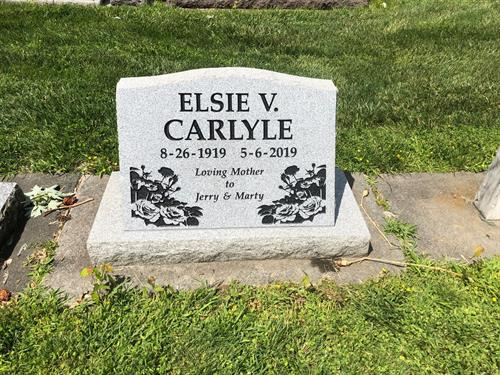 Carlyle Slant at Mountain View Cemetery