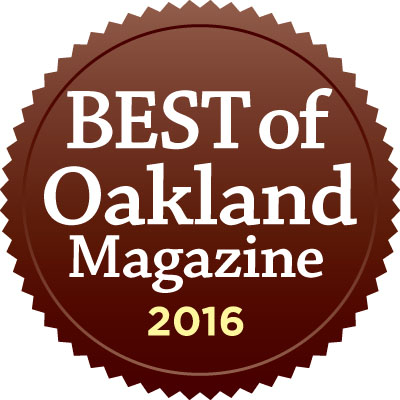 Winner - Best Insurance Agent in Oakland, 2016 by Oakland Magazine