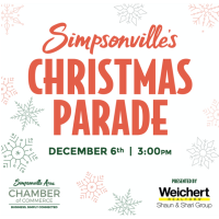 Simpsonville's Annual Christmas Parade, Presented by Weichert Realtors - Shaun & Shari Group