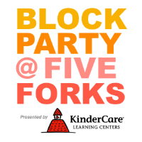 2019 Block Party @ Five Forks, Presented by KinderCare of Simpsonville