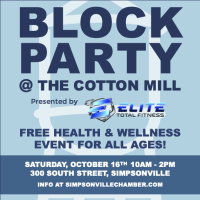 Block Party @ The Cotton Mill presented by Elite Total Fitness
