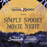 Simply Spooky Movie Night, Presented by Ray Thompson's Upstate Karate