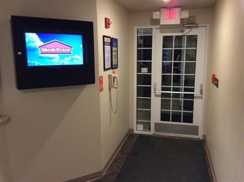 Value Place Simpsonville Lobby