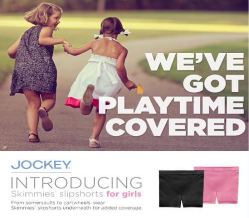 Jockey brand skimmies advertisement