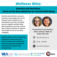 Wellness Wins: Exercise and Nutrition, Some of the Best Medicine for Overall Well-Being