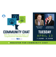 Community Chat with Rep. Baker and Congresswoman Michelle Fischbach