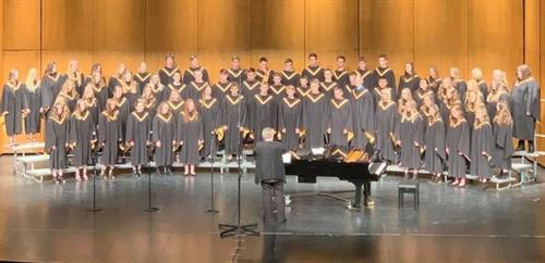 Choir Concert in NLS Performing Arts Center.