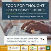 FOOD FOR THOUGHT: Board Trustee Edition Series