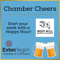 April 26, 2021: Chamber Cheers at Iron Hill Brewery TapHouse